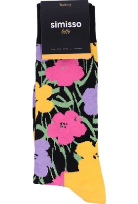 Simisso Lofty Çorap 809   Sarı