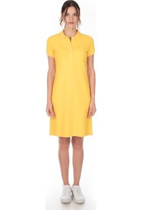 Galvanni Kadın Sarı Elbise - Mors