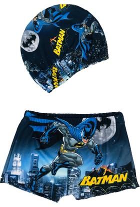 Batman Baskılı Çocuk Boxer Mayo - Batman Bone