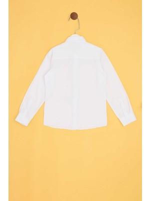 Riccione Erkek Çocuk Beyaz Gömlek