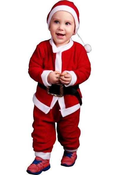 Efran Bebe Erkek Bebek Noel Baba Kostüm