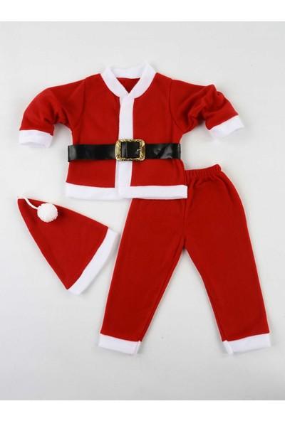 Efran Bebe Erkek Çocuk Noel Baba Kostüm