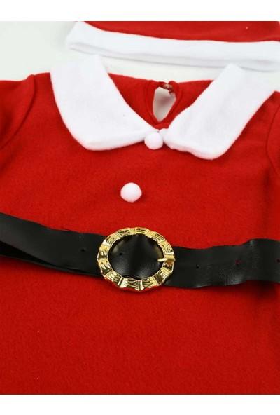 Efran Bebe Kız Çocuk Noel Elbise Kostüm