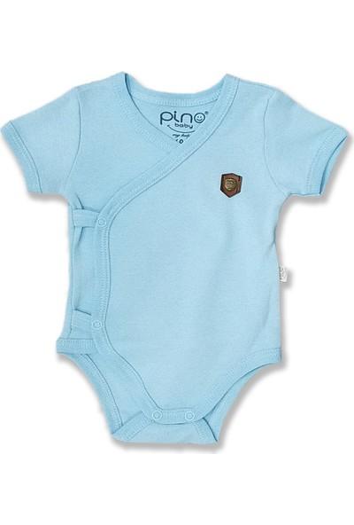 Pino Baby Erkek Bebek Kruvaze Bady- Zıbın