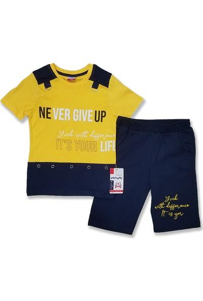 Yavrucak Life 2'li Penye Erkek Çocuk Takım
