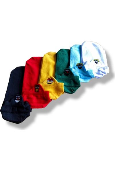 Kanka Kids Nakışlı Kadın Soket Çorap 6'lı Set