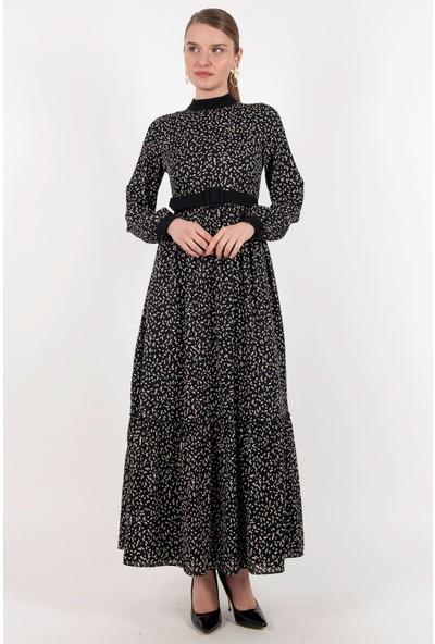 Loreen Elbise Siyah -LRN22219