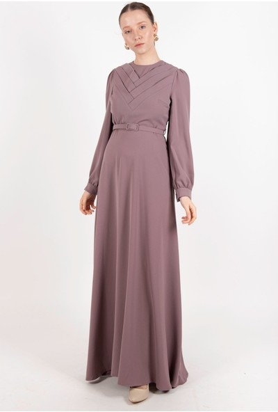 Puane Elbise Lila -PN12180