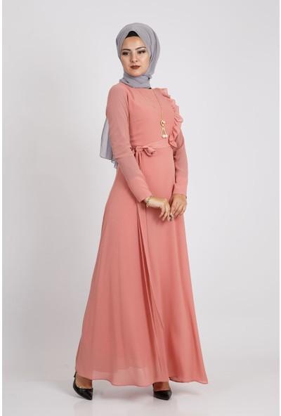 Loreen Kadın Gül Elbise