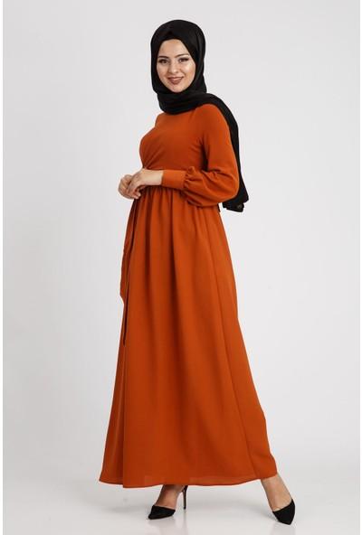 Puane Kadın Kiremit Elbise