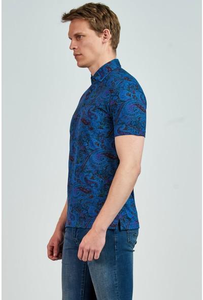 Giovane Gentile Erkek T-Shirt Açık Mavi