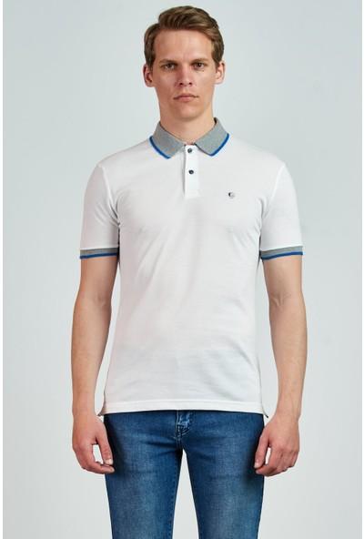 Giovane Gentile Erkek T-Shirt Beyaz