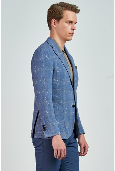 Giovane Gentile Erkek Ceket Açık Mavi