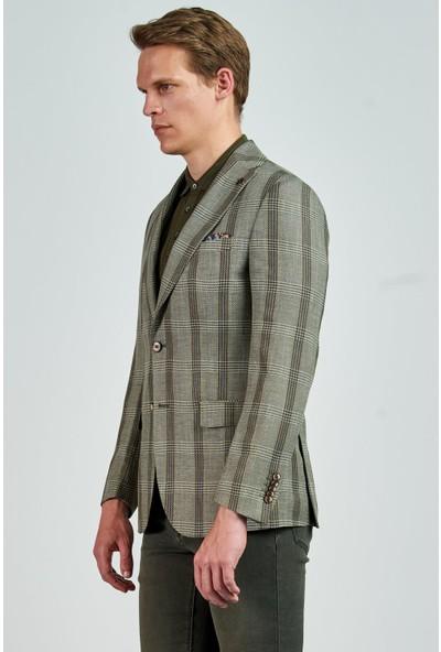 Giovane Gentile Designers Ceket Açık Yeşil