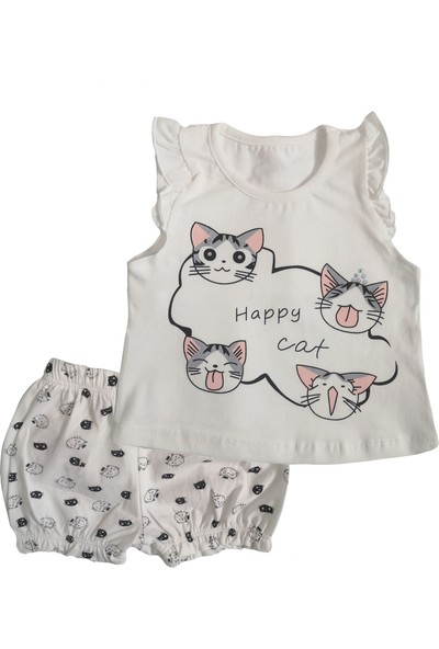 Minidoll Happy Cat Kız Bebek Takım