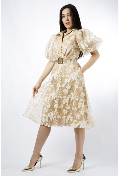 Esi̇to Çiçekli Elbise