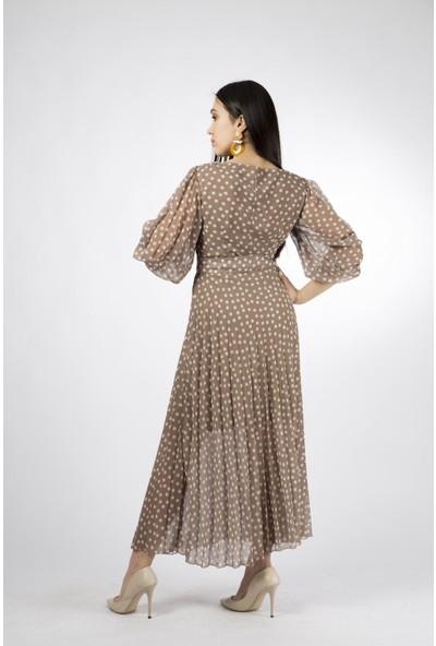 Esi̇to Puanlı Piliseli Elbise