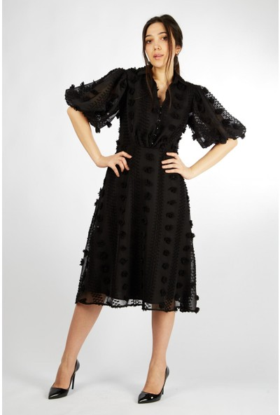 Favori̇ Ponponlu Elbise