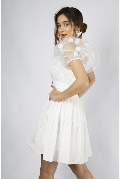 Favori̇ Tül Mini Elbise