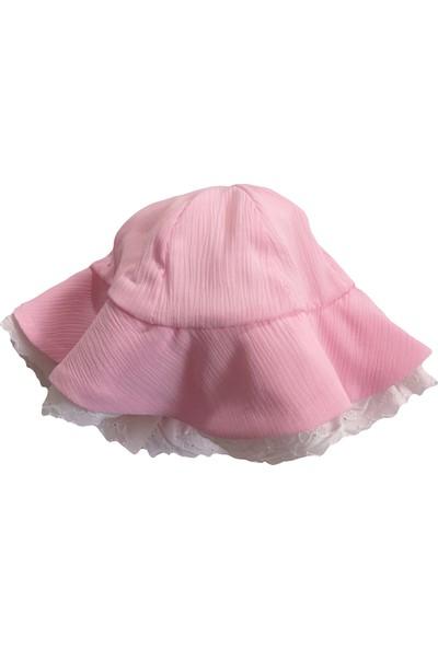 Bbx Fistolu Fırfır Şortlu Şapkalı Bebek Takım