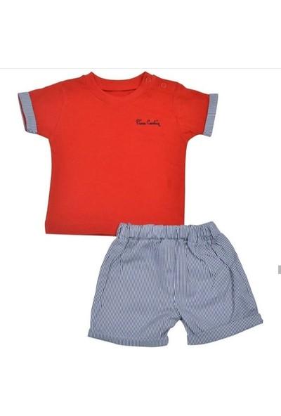 Pierre Cardin Baby Erkek Çocuk Şortlu Takım