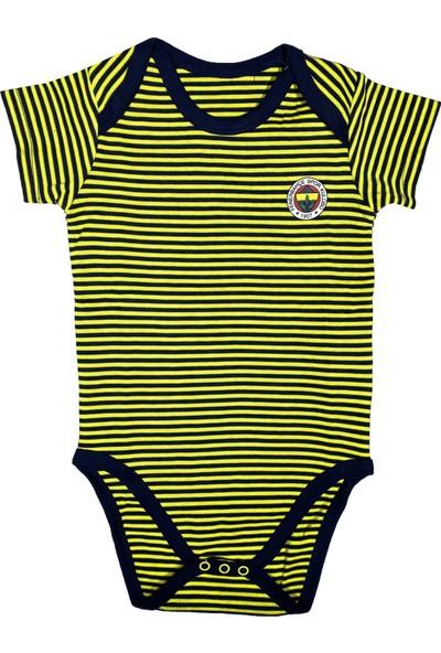 Fenerium Fenerbahçe Bebek Kısakol Body - FB1239
