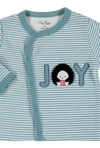 For My Baby Bebek Joy Patikli Çıtçıtlı Tulum