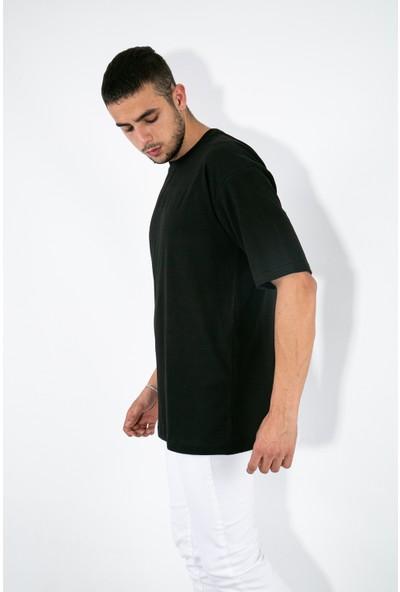 Romedy Oversize Basic ErkekT-Shirt