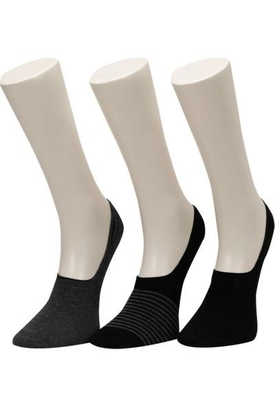 Garamond Cember 3'lü Suba-M Siyah Erkek Çorap