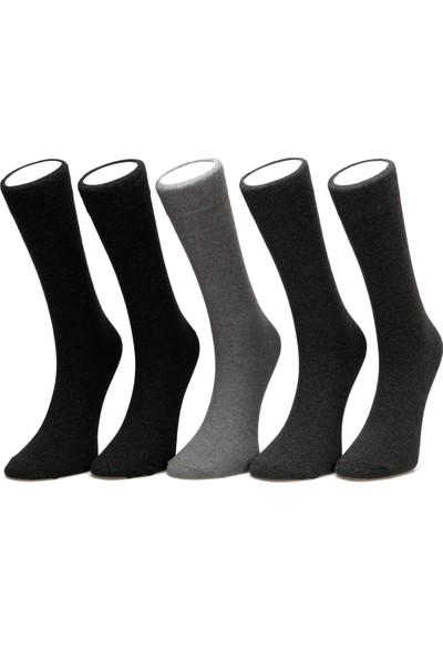 Garamond Basic 5'li Skt-M Antrasit Erkek Soket Çorap