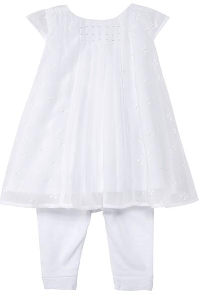Catimini Şifon Elbise Tayt Takım