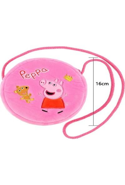 Peppa Pig Peluş Oyuncak Figür Çanta
