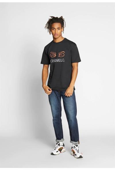 Soydance Oversize Who Watcing T-Shirt Karısık