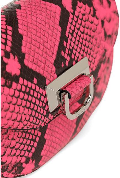 Nine West Remy NYK109280 Neon Pembe Kadın Bel Çantası