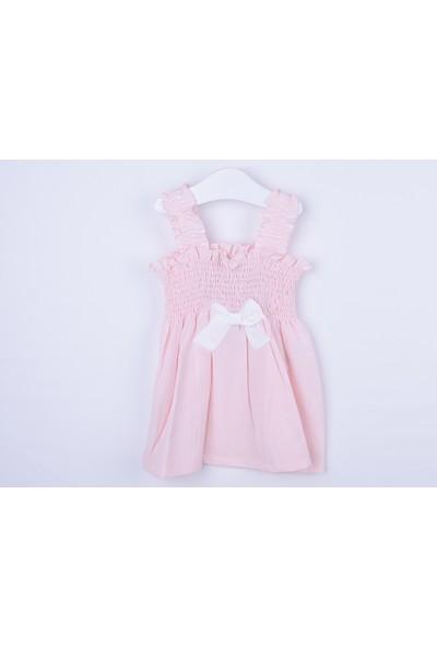 Serkon Kız Bebek Çocuk Gipe Elbise 1 - 2-7 - 8 Yaş Serkon 4331