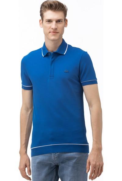 Lacoste Erkek Regular Fit Saks Mavi Polo PH4275.Z7Z