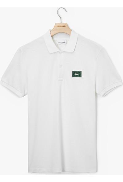 Lacoste Erkek Slim Fit Beyaz Polo PH5107.70V
