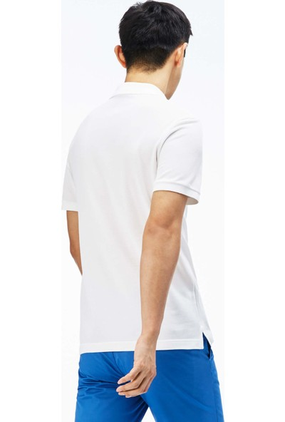 Lacoste Erkek Slim Fit Beyaz Polo PH4012.001