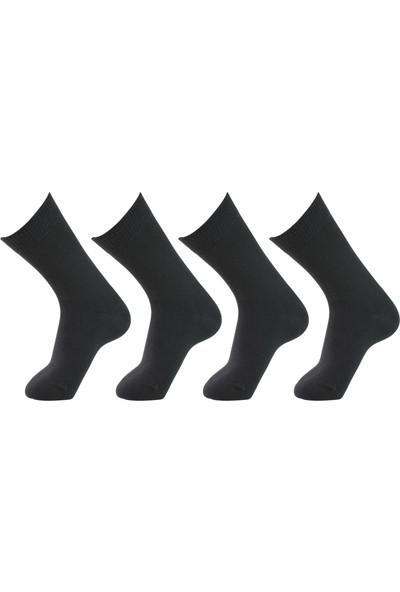 Roff Penye Şeker Erkek Çorabı 6'lı Siyah