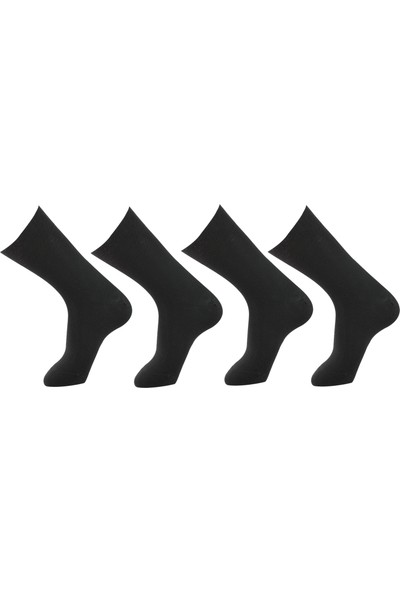 Roff Selenı Bamboo Erkek Çorabı 6'lı Siyah