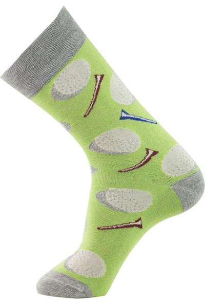Roff Vanıtıy Penye Resimli Erkek Çorabı 6'lı