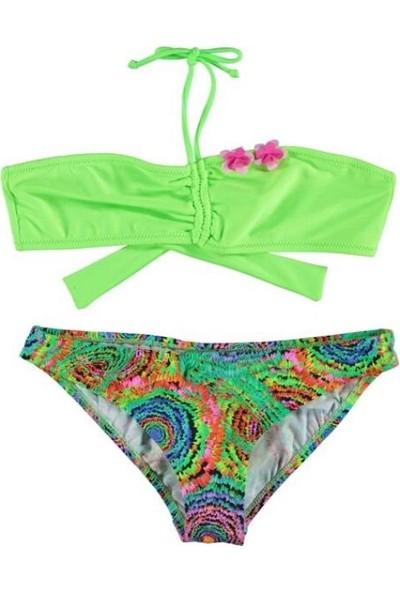 Viva Playa 777 Yeşil Straplez Bikini