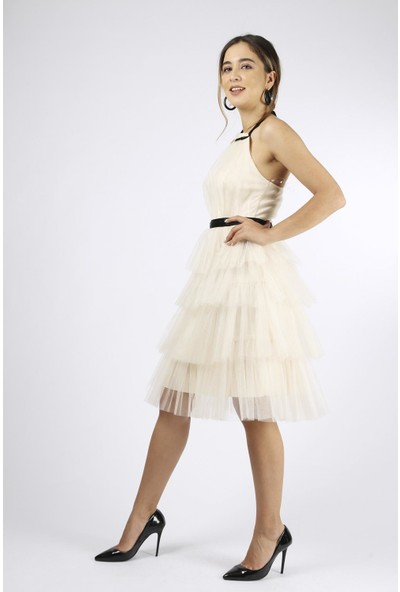 Favori Tüllü Elbise