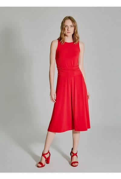 People By Fabrika Kadın Belden Bağlamalı Elbise