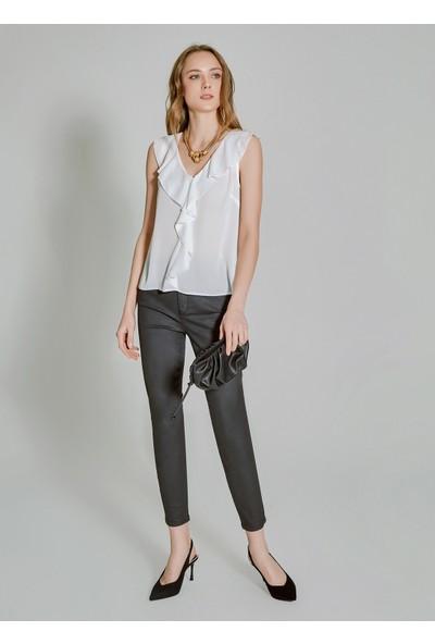 People By Fabrika Kadın Cep Detaylı Kaplama Pantolon