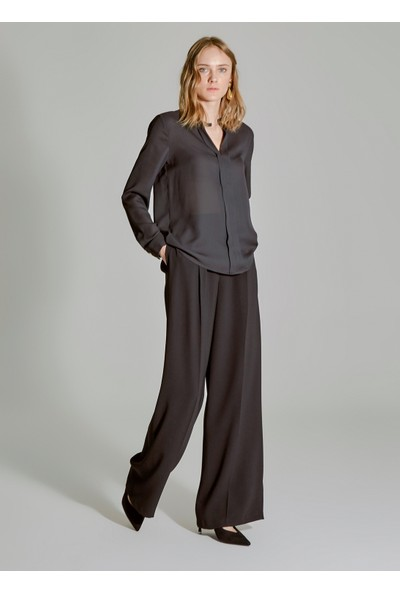 People By Fabrika Kadın Damla Detaylı Bluz