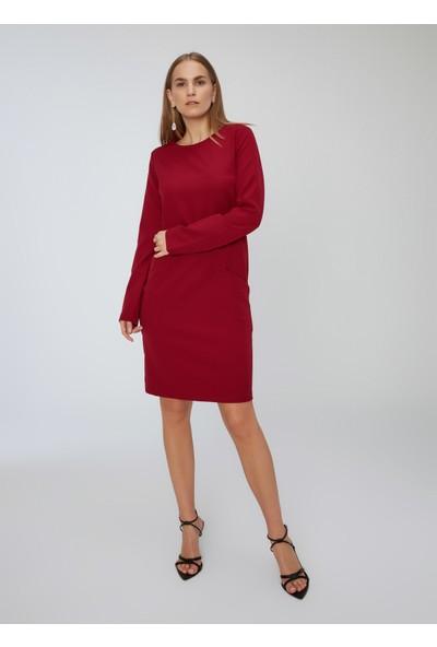 People By Fabrika Kadın Uzun Kollu Elbise