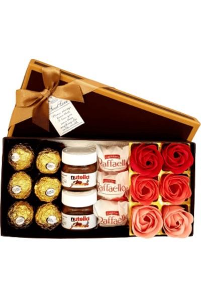 Hanbeyi Sevgiliye Avokado Yastığı Karışık Çikolata Set