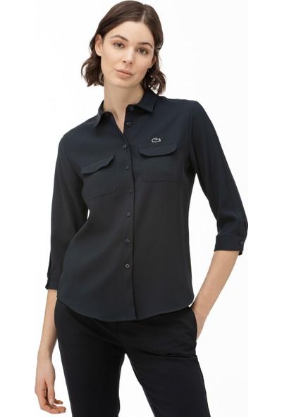 Lacoste Kadın Lacivert Gömlek CF0002.02L