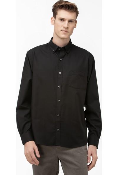 Lacoste Erkek Regular Fit Siyah Gömlek CH9623.C31